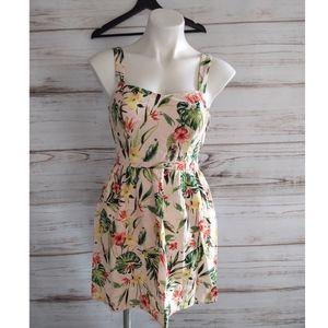 NWOT Speechless Pink Tropical Dress